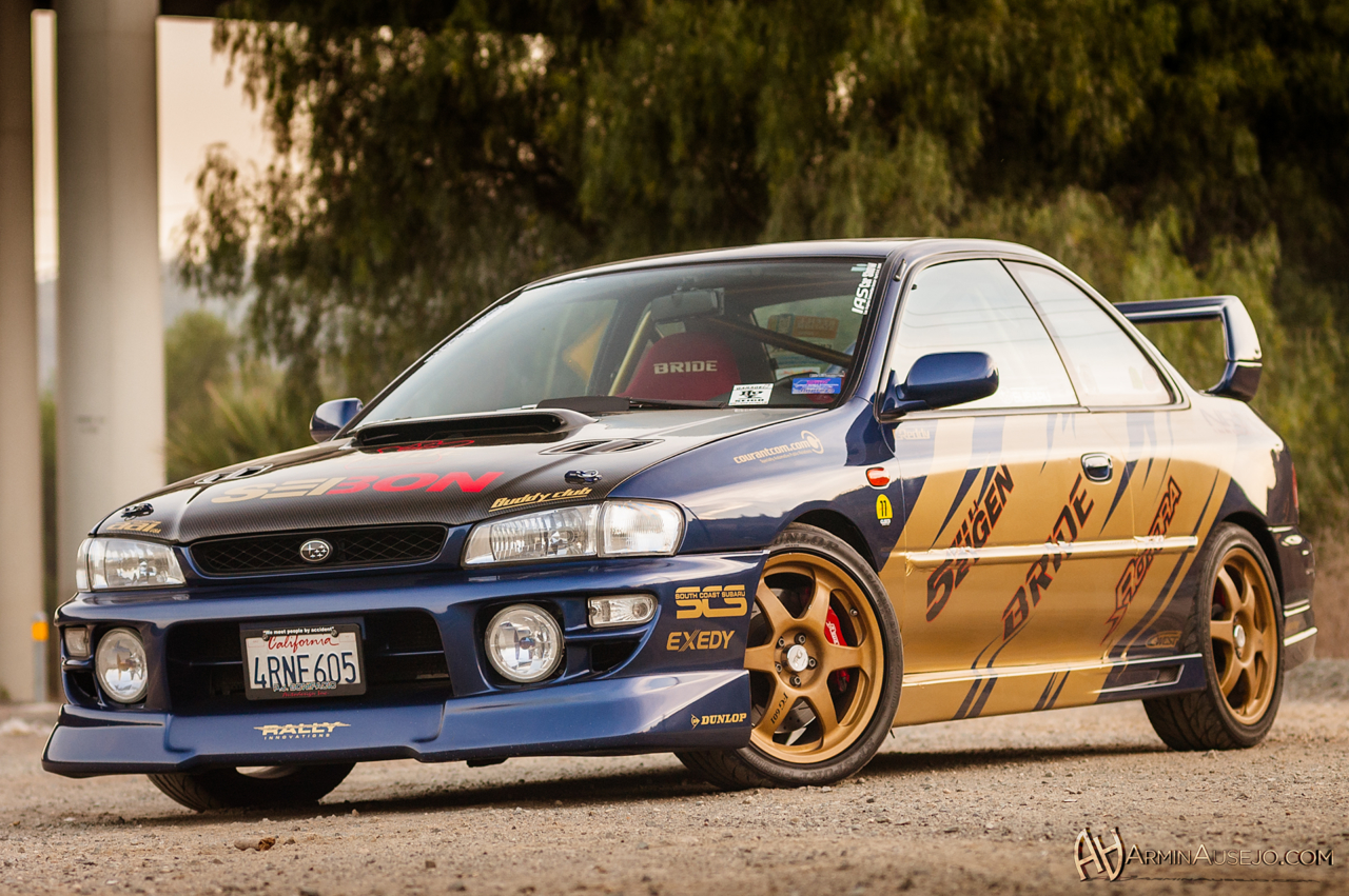 Franco's GC8 turbo