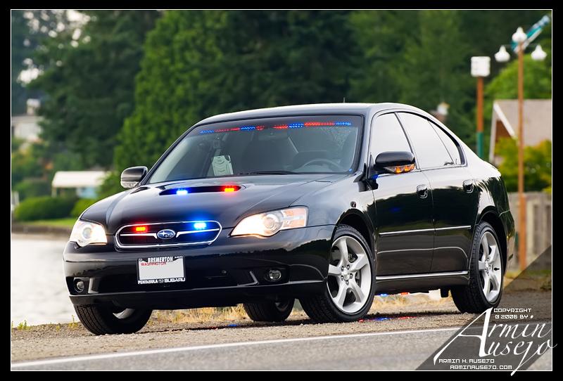 Kitsap County Sheriff's Legacy GT Police Car