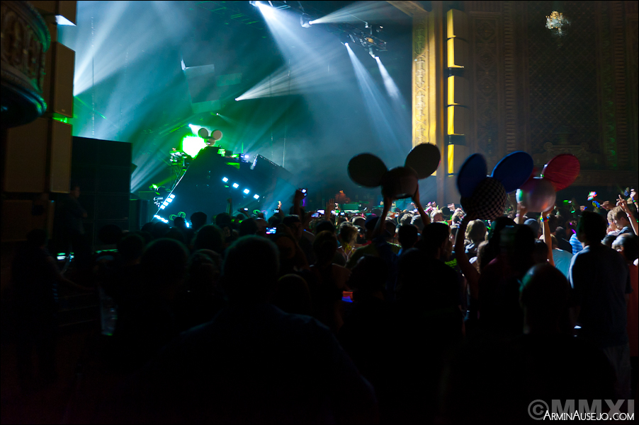 DeadMau5 at the Paramount Theatre 2011