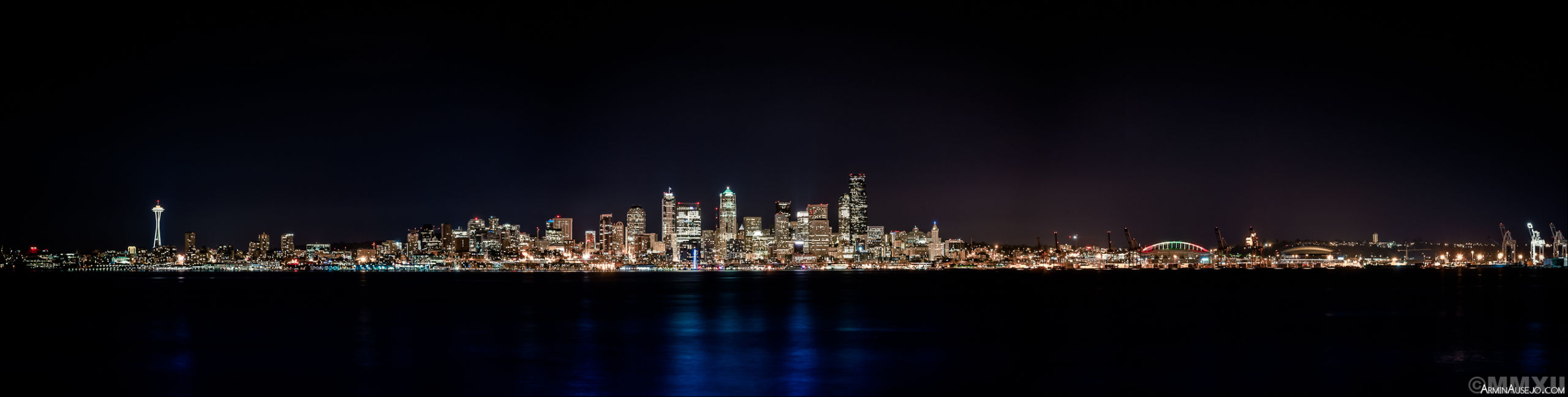 Seattle at Night, June 2012
