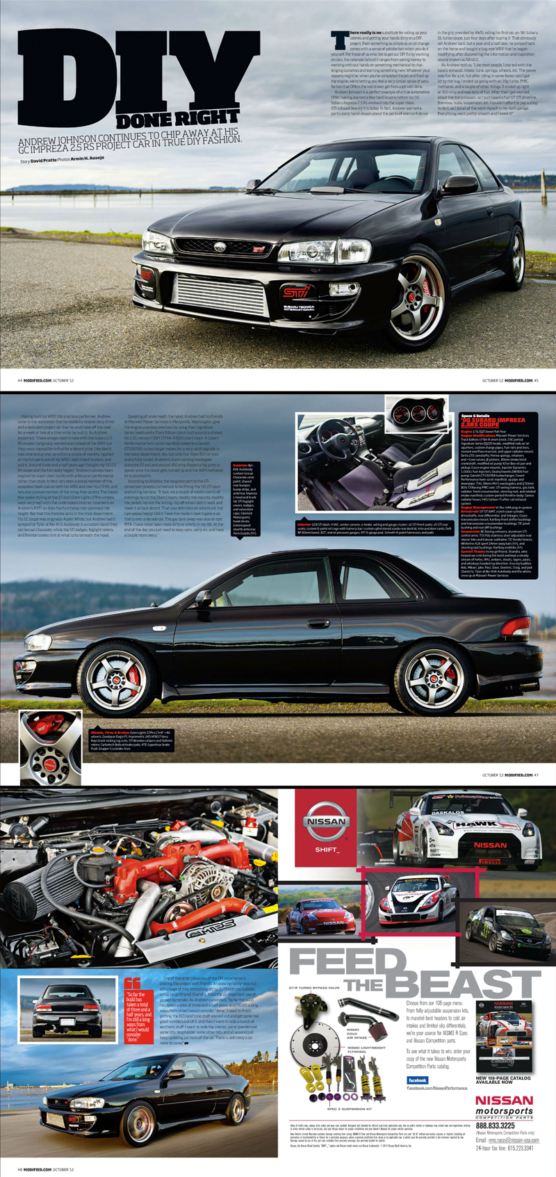 Andrew's Subaru RSTI for Modified Magazine