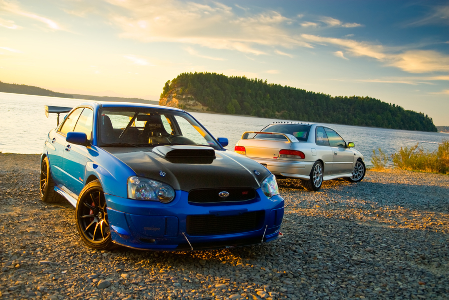 Eric and Brett's Subaru WRX STI and RS for Subiesport Magazine