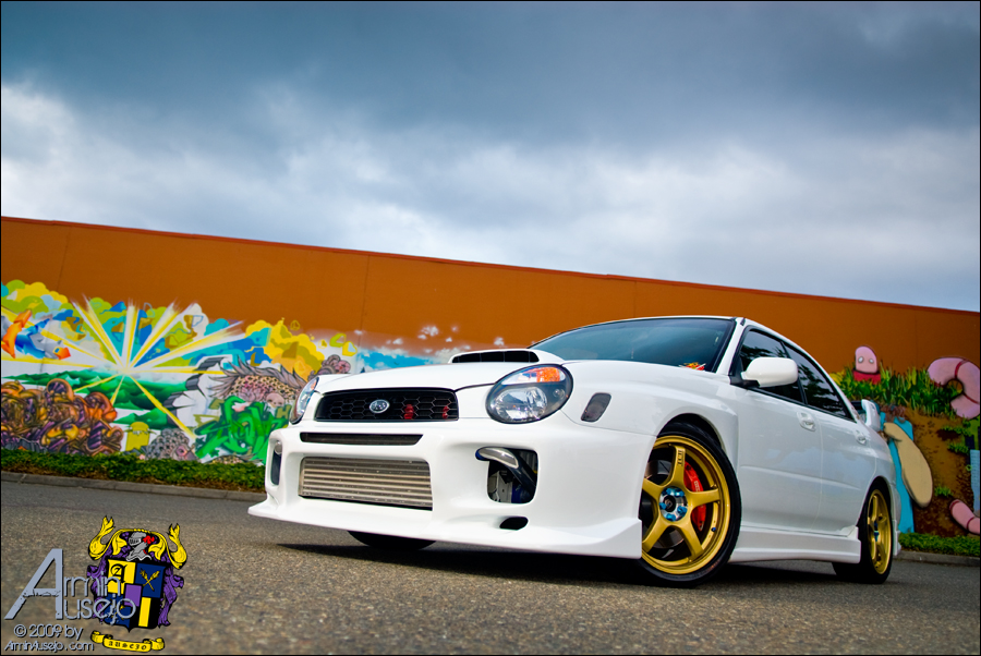 """Wence's WRX, """"The Tallgeese"""""""