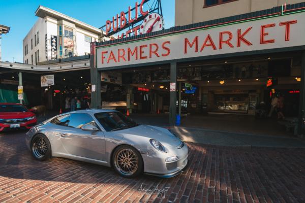 Rheena's Porsche 911 at Pike Place Market