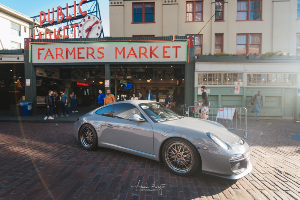 Rheena's Porsche 911 at Pike Place Market