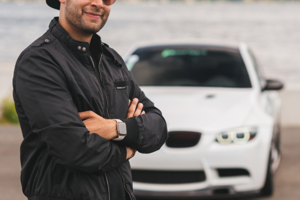 Omar and his BMW M3