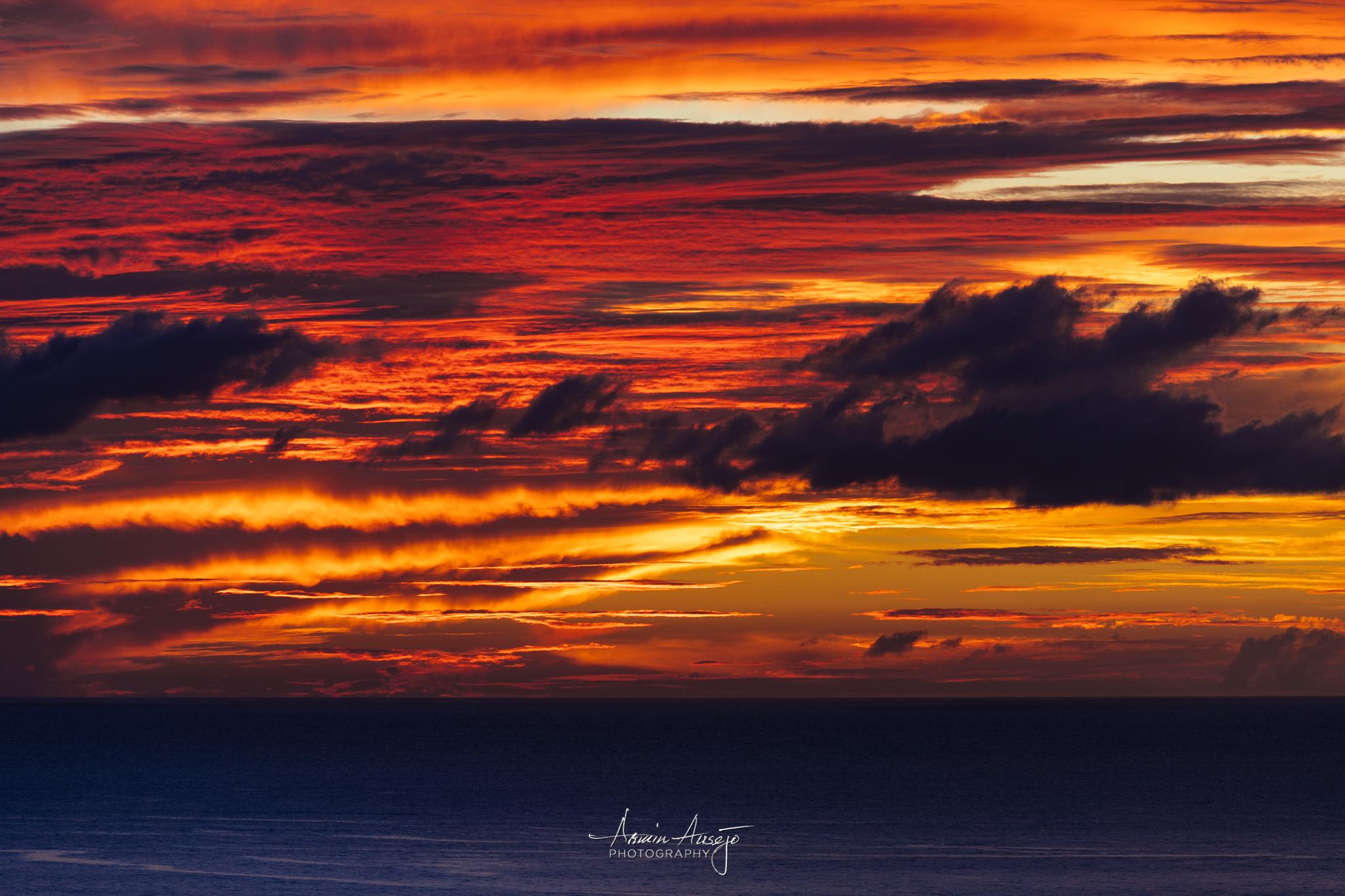 Hawaiian Sunset Cloud Detail, Nikon Z7 and Nikon 300mm f/4 PF ED VR