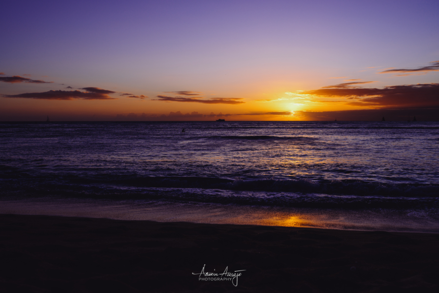 Sunset over Waikiki with the Nikon Z7 and Sigma 35mm f/1.4 ART