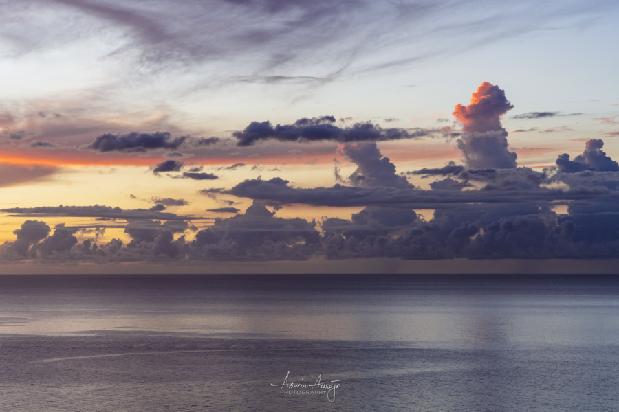 Hawaiian Sunset Cloud Detail, Nikon Z7 and Nikon 85mm f/1.4G