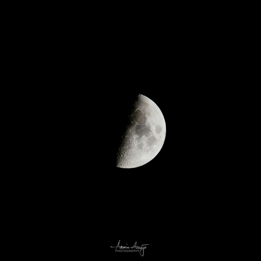 Half Moon, Nikon Z7 and Nikon 300mm f/4 PF ED VR