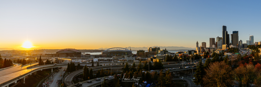 Seattle from the Jose Rizal Bridge