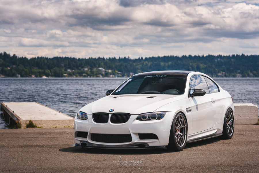 Omar's BMW M3 in Seattle