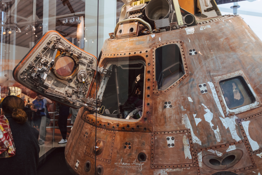 Command Capsule that actually went to space
