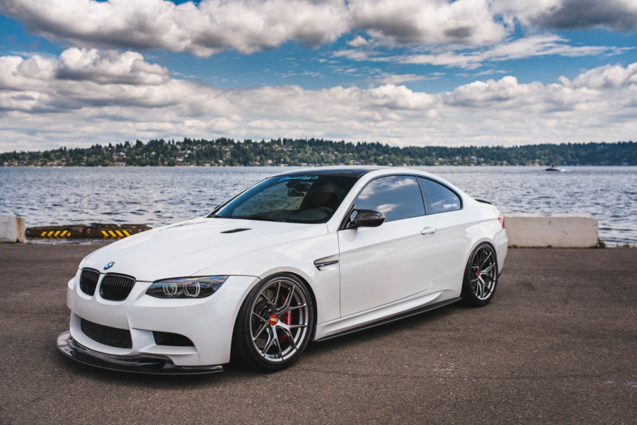 Omar's BMW M3 on BBS wheels