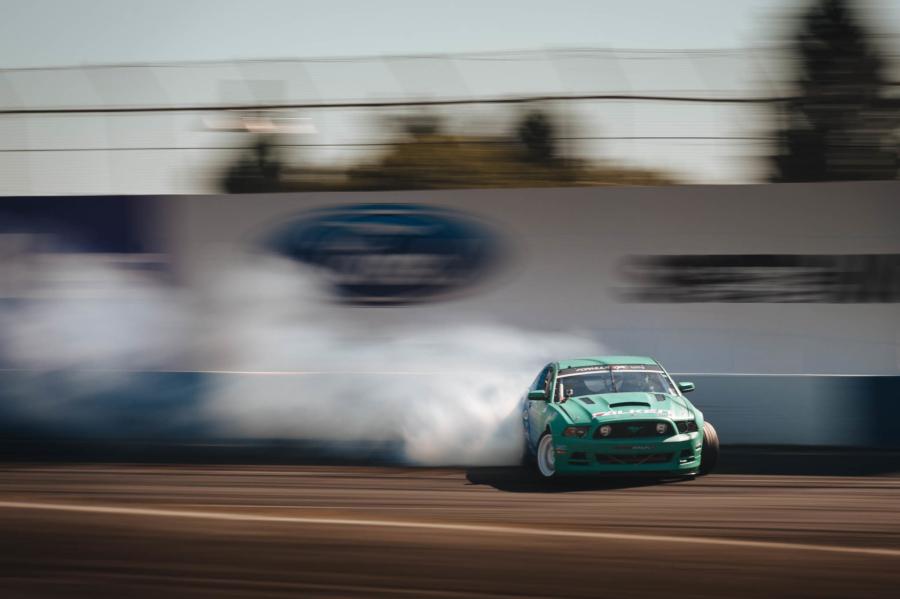 Justin Pawlak's Mustang at Formula DRIFT