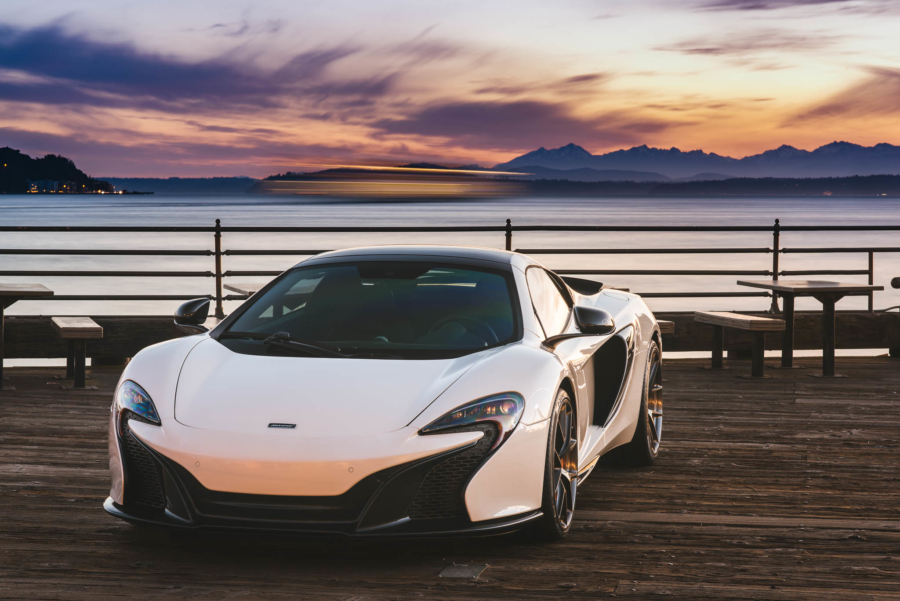 Will's McLaren 650S MSO Spyder on Seattle's waterfront