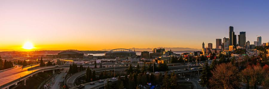 Seattle from Jose Rizal Bridge