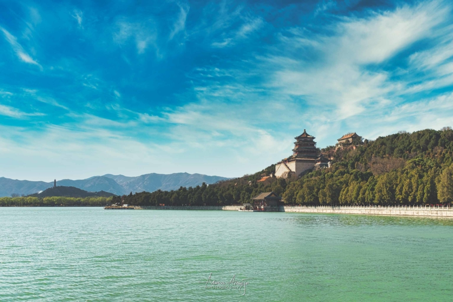 The Summer Palace just outside Beijing, China in 2019
