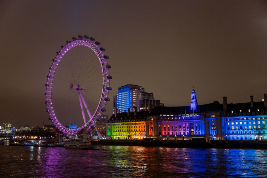 London Eye, January 2020