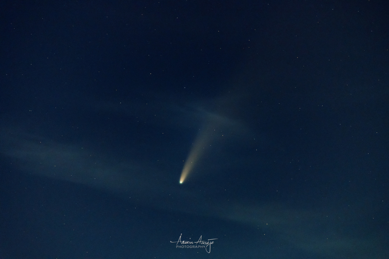 Comet NEOWISE, July 2020