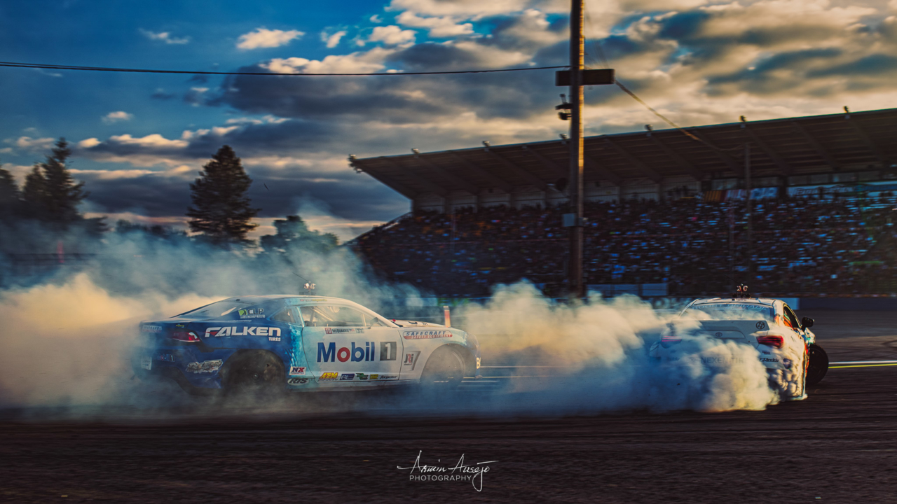 Entering the final battle at Formula DRIFT Seattle 2016