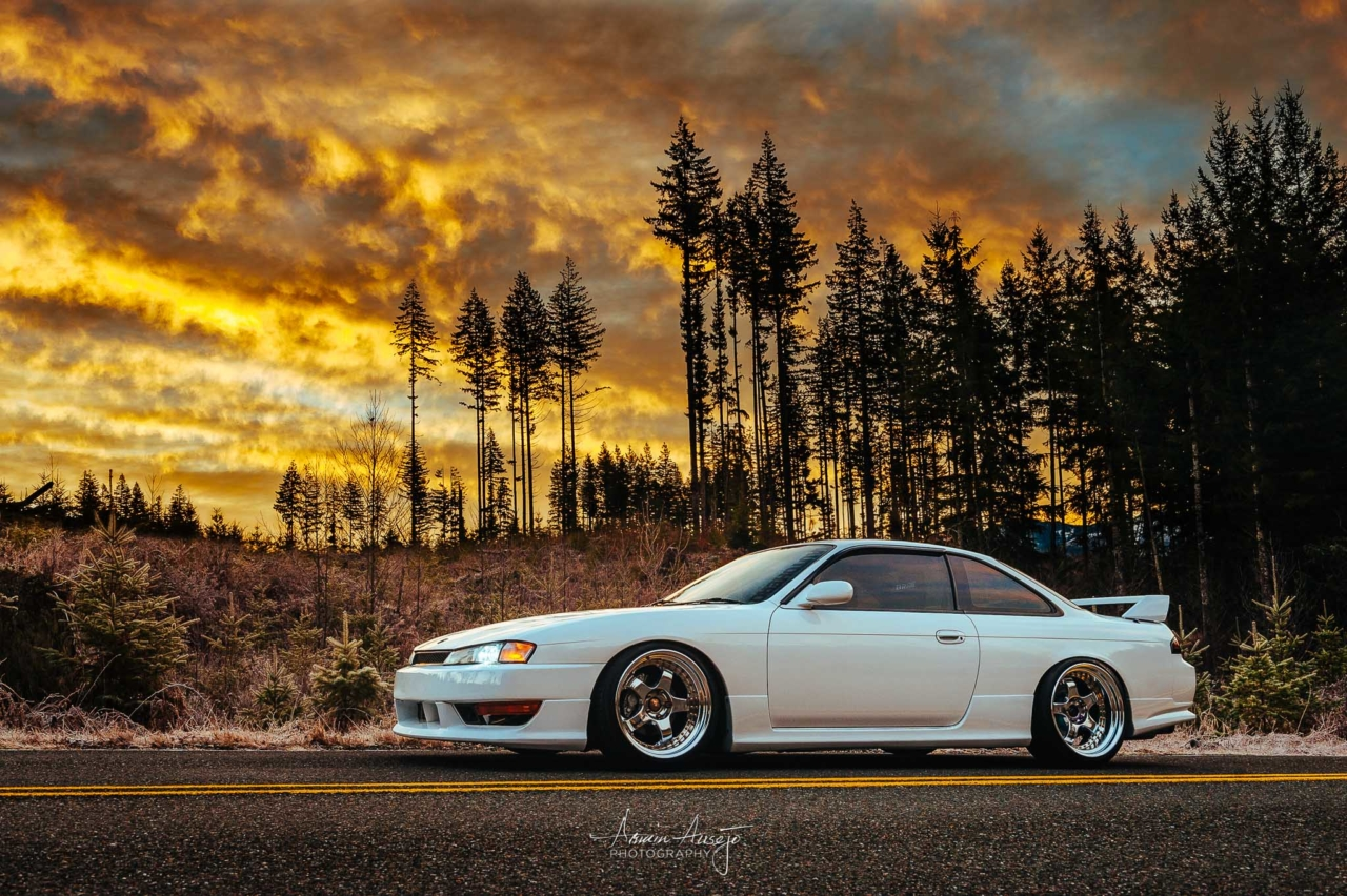 James' S14 at Sunrise
