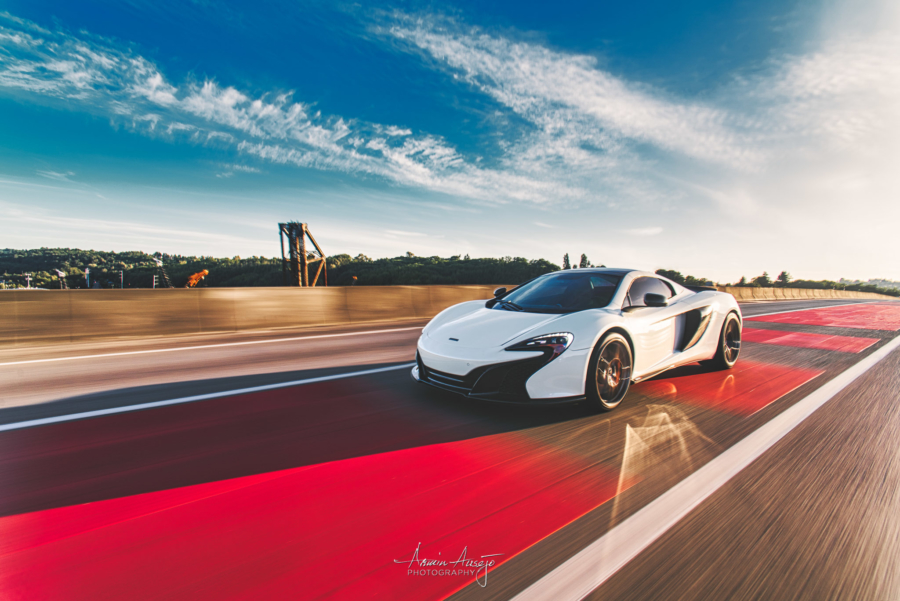 "Will's McLaren MSO 650S Spider, ""Red Means Go"""
