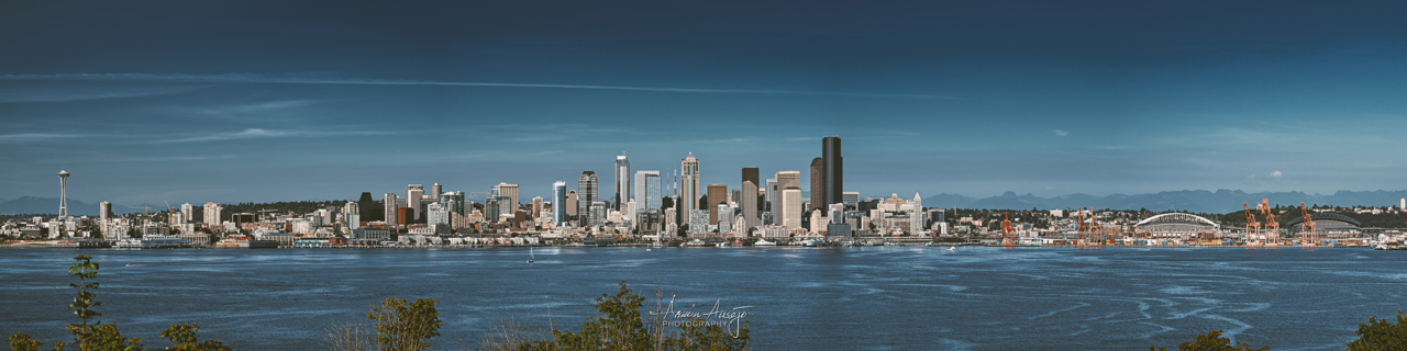 Seattle from Hamilton Viewpoint Park, 2013