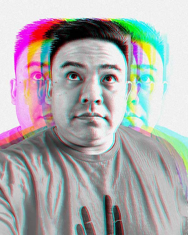 Spectrum portrait of me!