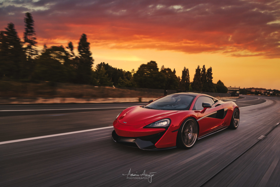 "Will's McLaren 570S, ""Sunset Rider"""