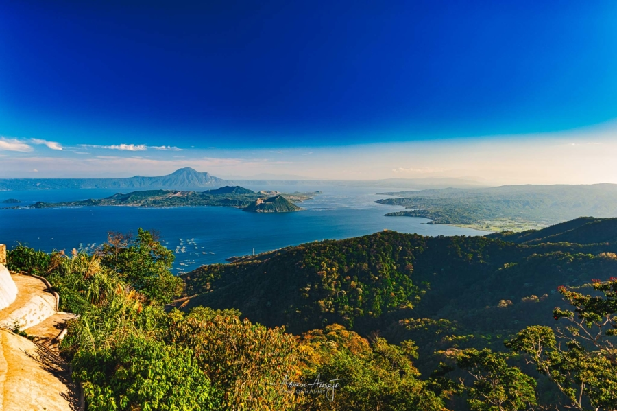 Taal Volcano in The Philippines, 2011